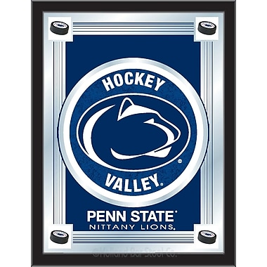 Holland Bar Stool NCAA Logo Mirror Framed Graphic Art; Penn State Hockey