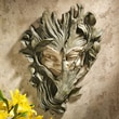 Design Toscano Bashful Wood Sprite Wall Decor