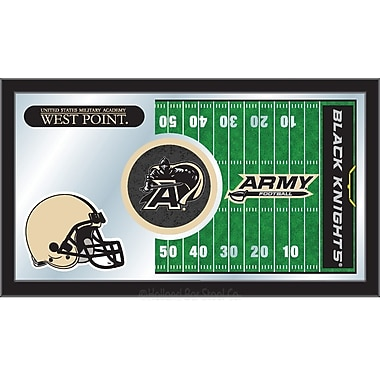 Holland Bar Stool NCAA Football Mirror Framed Graphic Art; US Military Academy