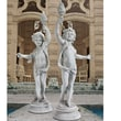Design Toscano Lighting The Heavens Grande Cherub Sentinel Statue (Set of 2)