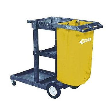 Impact 38'' Janitorial Cart 3 Shelves