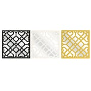IMAX Prinstly Wall Mirror (Set of 3)