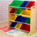 KidKraft Sort It and Store It 12 Compartment Cubby; Natural