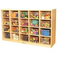 A+ Child Supply Shelf Storage; 20 Shelves