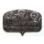 Montague Metal Products Bright to Everyones Delight Garden Sign
