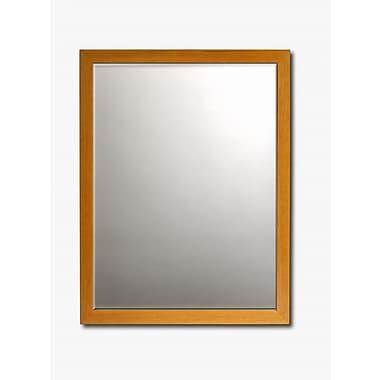 Printfinders Wall Mirror; 33'' H x 27'' W x 1'' D