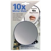 Floxite Mirror Mate with Suction Cups; 10x