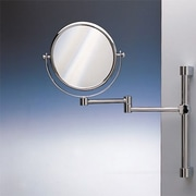 Windisch by Nameeks Wall Mounted Double Face Magnifying Mirror; Chrome