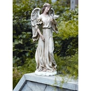 Roman, Inc. Angel with Dove Statue