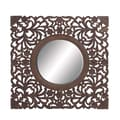 Woodland Imports Ethnic Wall Mirror