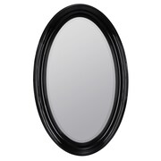 Cooper Classics Lyndale Mirror; Glossy Black