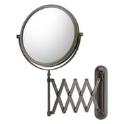 Mirror Image Mirror Image Extension Arm Wall Mirror; Italian Bronze