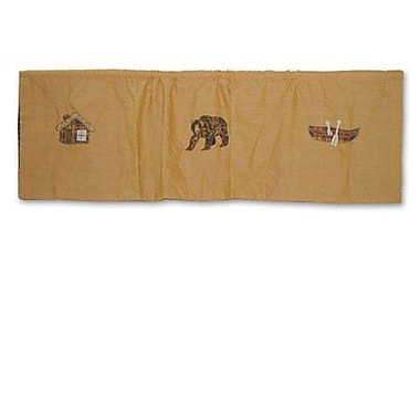 Patch Magic Cabin 54'' Curtain Valance