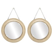 Propac Images Mirror (Set of 2); Tan