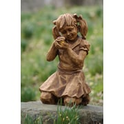 Evergreen Enterprises, Inc Girl with Firefly Solar Statue