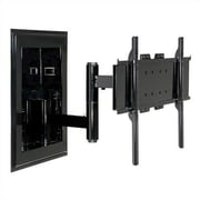Peerless Extending Arm Universal Wall Mount for 32'' - 60'' Plasma/LCD; Black