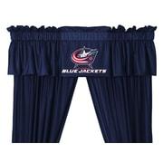 Sports Coverage NHL Columbus Blue Jackets 88'' Curtain Valance