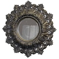 Imagination Mirrors Shield of Arms Round Framed Mirror