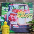 Cape Craftsmen Outdoor Canvas Truck Wall Decor