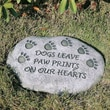Evergreen Enterprises, Inc Dogs Leave Paw Prints on Our Hearts Tiding Stepping Stone