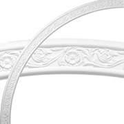 Ekena Millwork Floral Medway 74 3/4''H x 74 3/4''W x 3 1/8''D Ceiling Ring