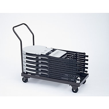 Correll, Inc. 500 lb. Capacity Stacking Folding Chair Dolly
