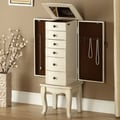 Coast to Coast Imports Jewelry Armoire with Mirror