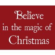 Secretly Designed Magic Christmas Art Print