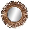 Aspire Abstract Framed Mirror