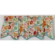 Cotton Tale Lizzie Straight 54'' Curtain Valance
