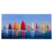 Cape Craftsmen Outdoor Canvas Flying Colors Wall Decor