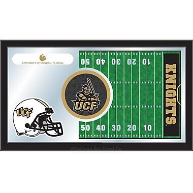Holland Bar Stool NCAA Football Mirror Framed Graphic Art; Central Florida