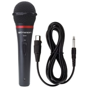 Emerson Karaoke Professional Microphone with Durable Metal Case and Grill