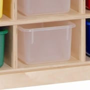 Steffy 20 Compartment Cubby; Clear