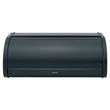 Brabantia Roll Top Bread Bin; Matt Black