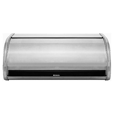Brabantia Roll Top Bread Bin; Matt Steel