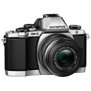 Olympus® OM-D E-M10 16.1MP Mirrorless Digital Camera Body With Lens Kit, Silver