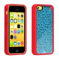 PureGear® Retro Game Case For Apple iPhone 5C, Red/Blue