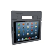 Kensington® SafeGrip™ Rugged Carry Case and Stand For iPad Air, Charcoal