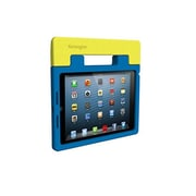 Kensington® SafeGrip™ Rugged Carry Case and Stand For iPad Air, Blueberry