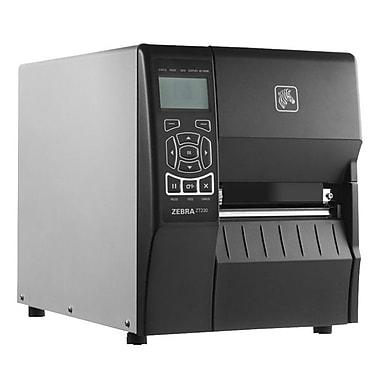 Zebra® ZT200™ Series 203Dpi Monochrome Desktop Direct Thermal/Thermal Transfer Label Printer