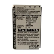 Dantona URC-LOG880 3.7 VDC Replacement Remote Control Battery