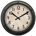 Geneva® 4388G 12in. Wall Clock, Metallic