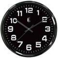 Geneva® 4622G 12in. Gunmetal Wall Clock, Metal