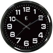Geneva® 4622G 12 Gunmetal Wall Clock, Metal