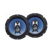 Pyle® PL63BL 360 W Pair Of Three-Way Speakers, Blue