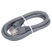 RCA 3' Cat6 RJ-45 Male/Male Network Patch Cable, Gray