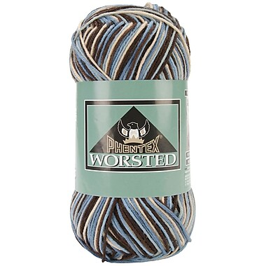Phentex Worsted Ombres Yarn, Wedgewood
