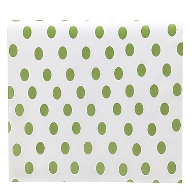 Bags & Bows® Tissue Paper, Green Dots, 20