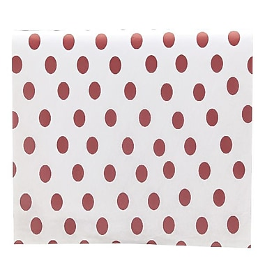 Bags & Bows® Tissue Paper, Red Dots, 20